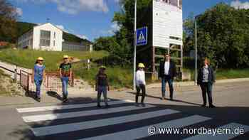 Mehr Sicherheit dank neuem Zebrastreifen in Pilsach - Nordbayern.de