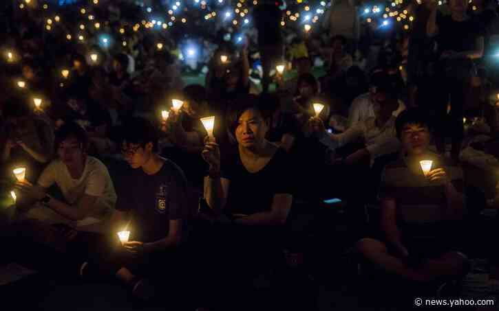 Hong Kong'sTiananmen commemoration banned by police for first time in three decades