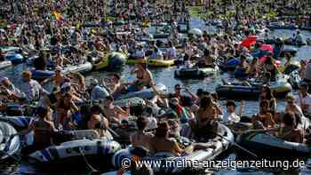 R-Wert in Deutschland steigt rapide - Hunderte feiern große Party in Berlin