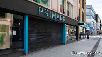 Coronavirus: Primark rules out fire sale of excess stock when UK stores reopen - Sky News