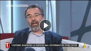 """Ripartenze, Marco Damilano: """"Se diciamo che il virus non è esiste è un'offesa verso tutte le persone morte"""" - La7"""