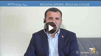 """Riapertura tra regioni, Gian Marco Centinaio: """"Non avrei problemi a farmi fare il tampone per andare in vacanza"""" - La7"""
