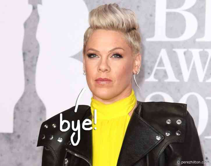 Pink Slams Critics Of Her Vocal Black Lives Matter Support: 'You Are The Epitome Of White Privilege'