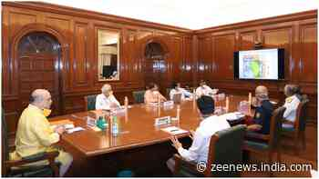 Amit Shah holds review meeting on impending cyclone with NDMA, NDRF, IMD, Indian Coast Guard