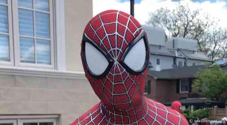 Superheroes visit Downtown Oakville