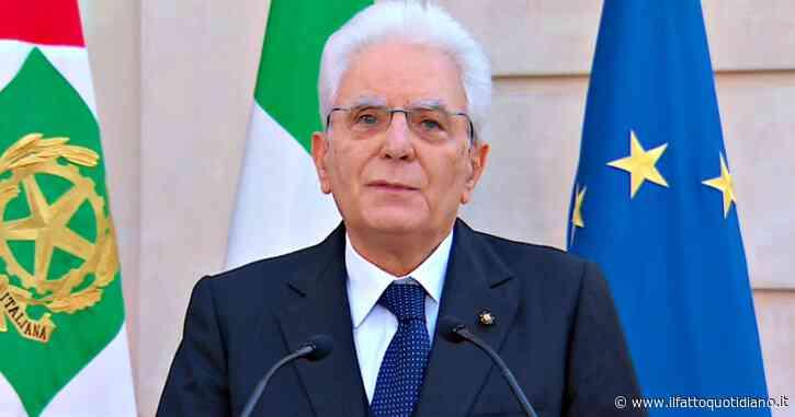 """2 giugno, Mattarella: """"Come nel 1946 partiti superino le divisioni. Unità morale viene prima della politica. Le istituzioni siano all'altezza del dolore degli italiani. Non siamo soli, Ue ha ritrovato il suo spirito"""""""