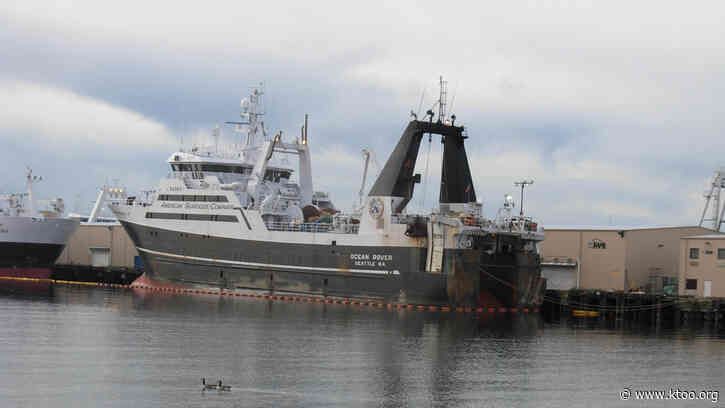 86 crew members on an American Seafoods trawler test positive for COVID-19