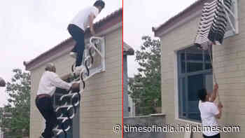 Watch: The safest foldable ladder is here