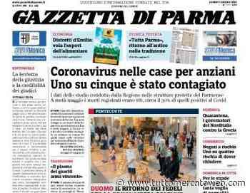 """Gazzetta di Parma: """"La rosa crociata alla nuova sfida delle 5 sostituzioni"""" - TUTTO mercato WEB"""