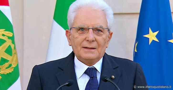 """2 giugno, Mattarella: """"Nell'emergenza l'Italia ha mostrato il volto migliore, sono fiero del mio Paese. Concerto dedicato a chi è morto solo"""""""