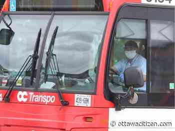 In a Canadian first, transit commission approves mandatory masks on OC Transpo
