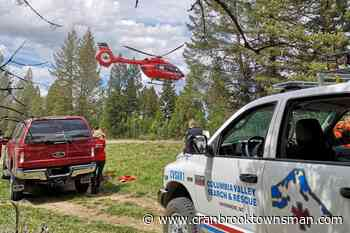 Young girl flown to Calgary after mountain biking accident near Invermere - Cranbrook Townsman
