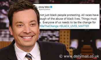 Jimmy Fallon tweets in support of Black Lives Matter