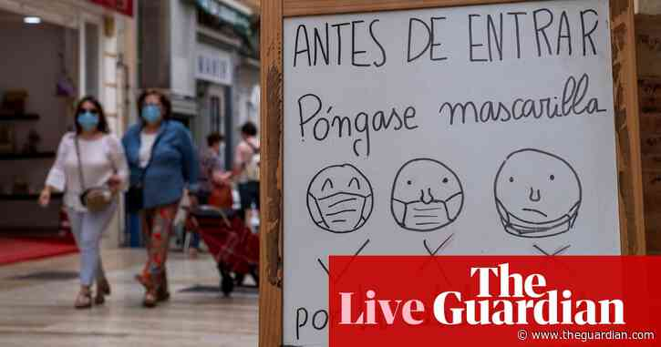 Coronavirus news live: no new Covid-19 deaths in Spain for first time since March