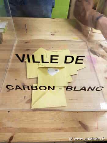 Second tour des élections municipales et communautaires Carbon-Blanc Carbon-Blanc 28 juin 2020 - Unidivers