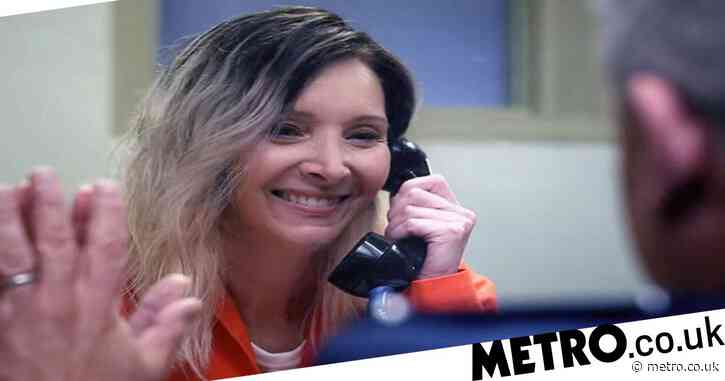 Why is Lisa Kudrow's character Maggie Naird in jail on Space Force?
