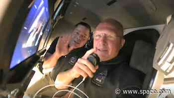 Space Webcasts: Crew Dragon astronauts call SpaceX from space station