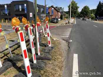 Nieuwe aansluitingen op Olenseweg, een week hinder voor het verkeer - Gazet van Antwerpen