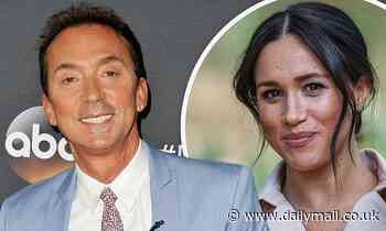 Bruno Tonioli invites Meghan Markle to Dancing With The Stars
