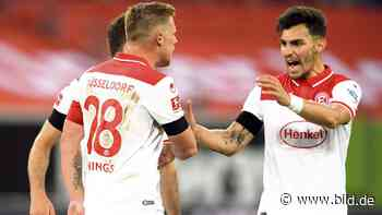 Fortuna Düsseldorf: Kaan Ayhan sagt Bayern den Kampf an - BILD