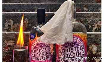 Gin firm is slammed on social media for looting-themed Tweet celebrating drink's 'flammability'