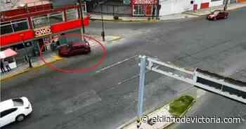 Captan cuando un conductor arrolla puesto ambulante - El Diario de Ciudad Victoria