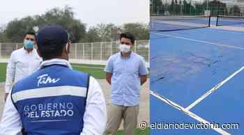 Repararán canchas de tenis - El Diario de Ciudad Victoria