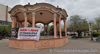 """Deja Frente Ciudadano """"huella"""" de su protesta vs. AMLO en Ciudad Victoria - Noticias de Tamaulipas"""