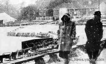 Weatherwatch: freak snow stopped cricket on 2 June 1975
