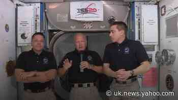 """Like Apollo 13"" Nasa's Crew Dragon reflect on returning to the International Space Station"