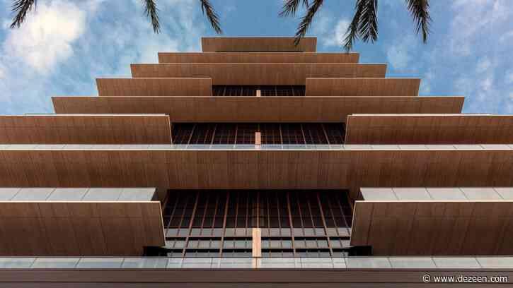 Stacked balconies wrap Antonio Citterio's Arte tower in Miami Beach