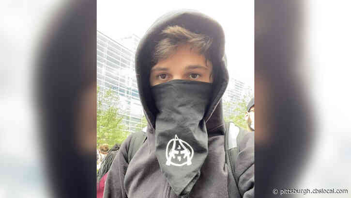 Brian Bartels, 20-Year-Old Accused Of Inciting Violence And Riots In Pittsburgh, In Police Custody