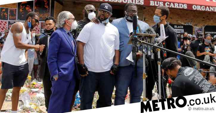 George Floyd's brother asks protesters not to 'tear up your town'