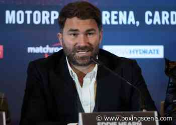 Hearn Aims To Resume 'Matchroom USA' Events in August - BoxingScene.com