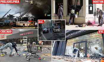 US counts cost after riots and looting break out across the country