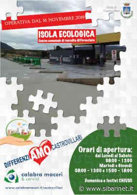 Castrovillari: dal primo giugno riprendono a pieno gli orari di conferimento all'isola ecologica - Sibarinet.it