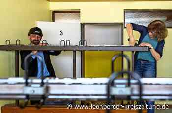 Leonberg: Die alten TSG-Kleiderhaken werden zu Kunstobjekten - Leonberg - Leonberger Kreiszeitung