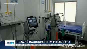 Hospital de Campanha de Porangatu é inaugurado por Ronaldo Caiado - G1