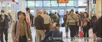 Estrie: des files d'attente pour la réouverture des centres commerciaux