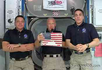 Astronauts describe first ride aboard SpaceX Crew Dragon