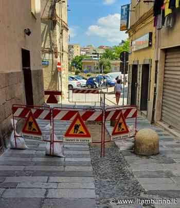 Sassari. Lavori in via Satta con chiusura al traffico - Il Tamburino Sardo
