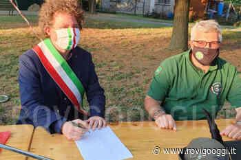 Firmata la convenzione ventennale dal gruppo alpini di Adria per la gestione del parco in via Grandi - RovigoOggi.it
