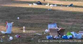 Sutton Park littered with thousands of laughing gas cannisters following 'large gathering' - Birmingham Live