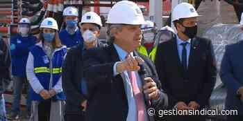La obra que inauguró Alberto Fernández en Quilmes generará 1.500 puestos de trabajo - Gestión Sindical