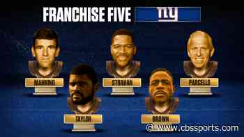 Giants Franchise Five: Eli Manning edges Phil Simms at quarterback, while pass rushers reign supreme