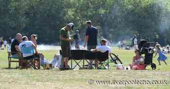 Generators, BBQs and gatherings at Sefton Park out on hottest weekend so far - Liverpool Echo