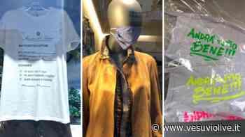 Manichini, magliette e mascherine: nelle vetrine di Napoli esplode la moda 'covid' - Vesuvio Live