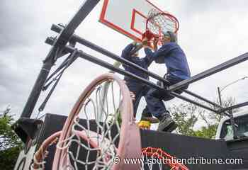 Basketball and tennis courts and skate park reopen in South Bend, Mishawaka - South Bend Tribune