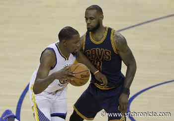 June 1, 2017: Kevin Durant leads Warriors to rout of Cavs in opener of Finals - San Francisco Chronicle