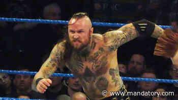 Aleister Black Defeats Seth Rollins, Rollins Beats Him Down